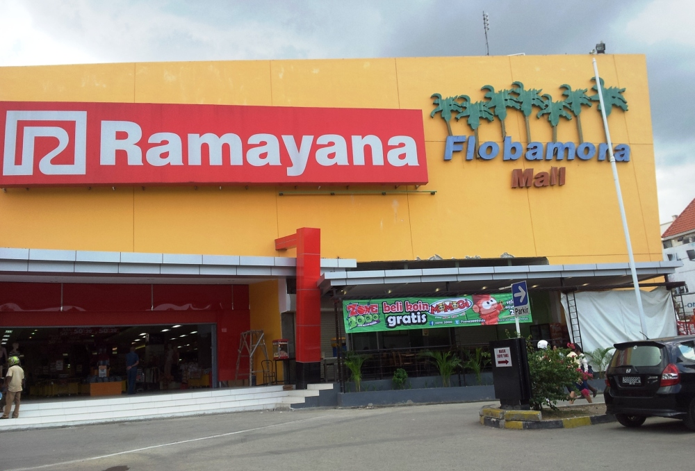 (Mall) Ramayana satu-satunya di Kota Kupang