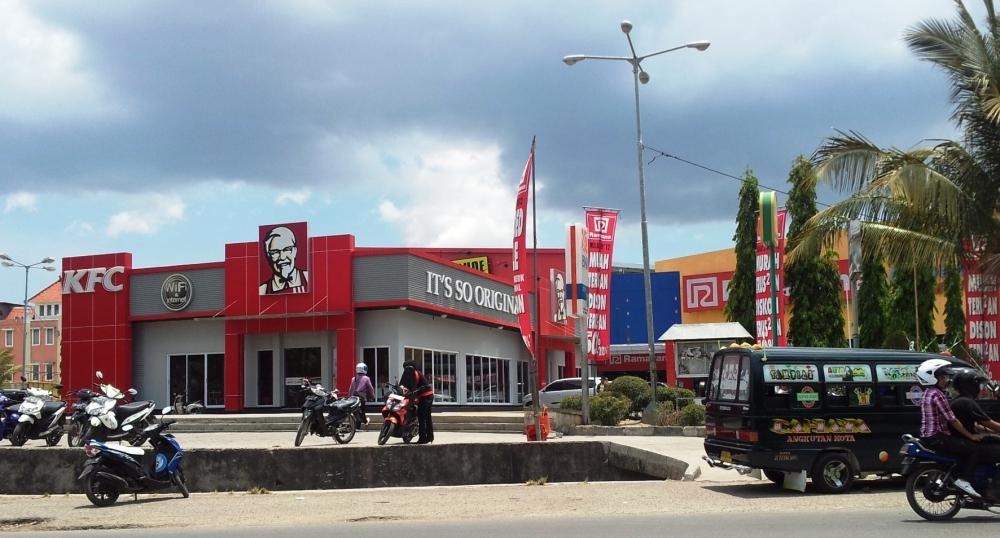 Resto fastfood KFC satu satunya di Kota Kupang
