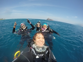 After dive di Gili Trawangan
