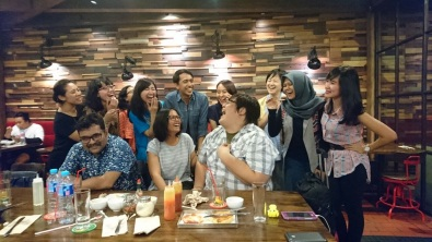 IUU team dinner