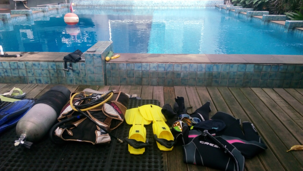 Dive gear!