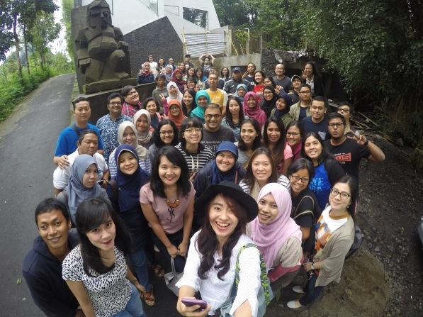 Company trip to Yogyakarta